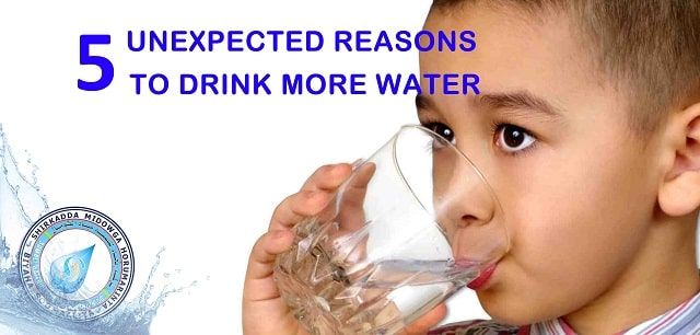 Unexpected Reasons to Drink More Water